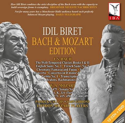 Bach & Mozart Edition [12CD + 1DVD]