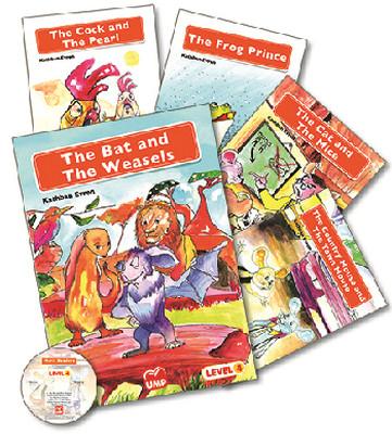 Merit Readers İngilizce Öyküler Level 4 - 5 Kitap Takım