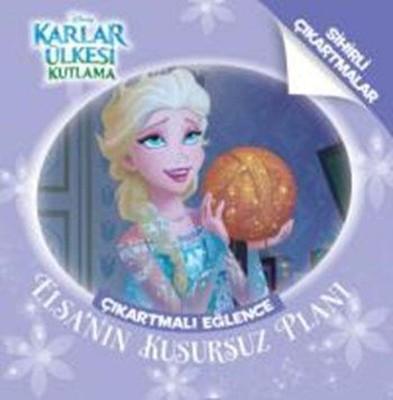 Disney Karlar Ülkesi Kutlama Çıkartmalı Eğlence Elsa'nın Kusursuz Planı