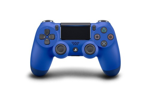 PS4 Dualshock Cont Wave Blue  (Mavi) V2