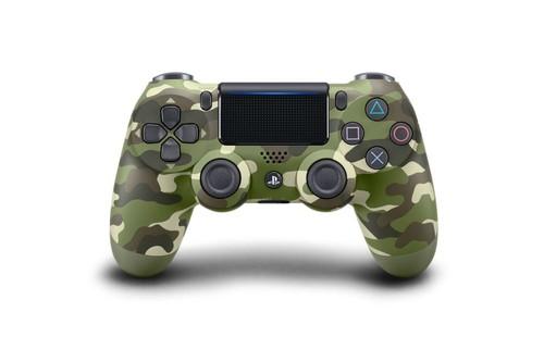 PS4 Dualshock 4 Controller Green Cammo (Yeşil Kamuflaj) V2