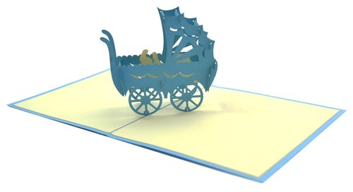 3D Mavi Puset Bb02