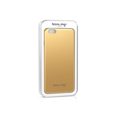 Happy Plugs Deluxe iPhone 6 Slim Case - Gold Kılıf h.p.9004