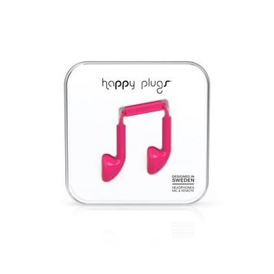 Happy Plugs Earbud Cerise Klk. h.p.7709