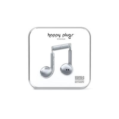 Happy Plugs Earbud Plus - Space Grey Klk. h.p.7824