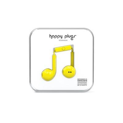 Happy Plugs Earbud Plus - Yellow Klk. h.p.7816