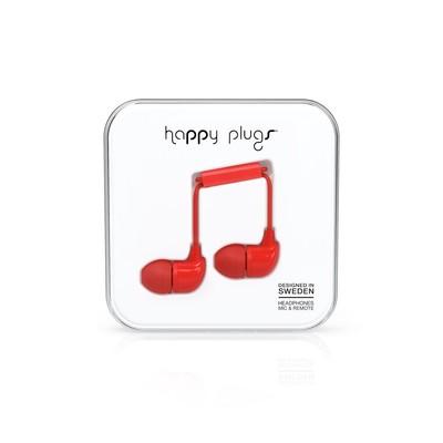 Happy Plugs In-Ear Red Klk. h.p.7716