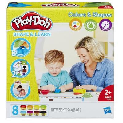 Play Doh Renkleri ve Şekilleri Öğreniyorum B3404