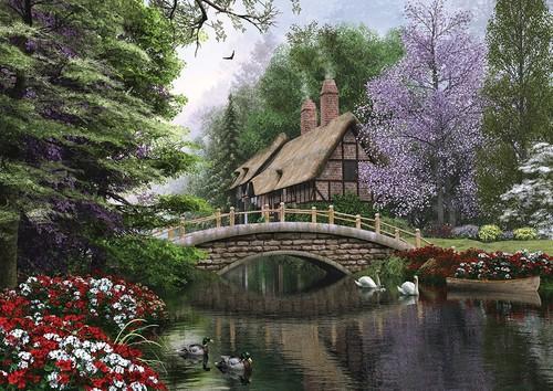 Art Puzzle Taş Köprü 1500 Parça 4620