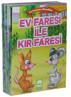 La Fontaine Masalları Küçük Boy 10 Kitap Takım
