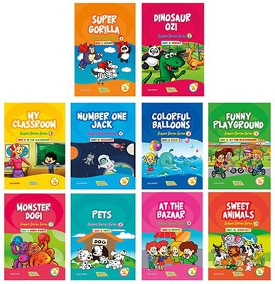 İngilizce Hikayeler 2. Sınıf Seti 10 Kitap Takım
