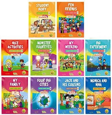 İngilizce Hikayeler 4. Sınıf Seti 10 Kitap Takım