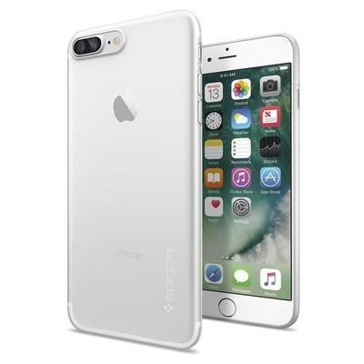 Spigen iPhone 7 Plus Kılıf Air Skin Ultra İnce 4 Tarafı Tam Koruma - Soft Clear