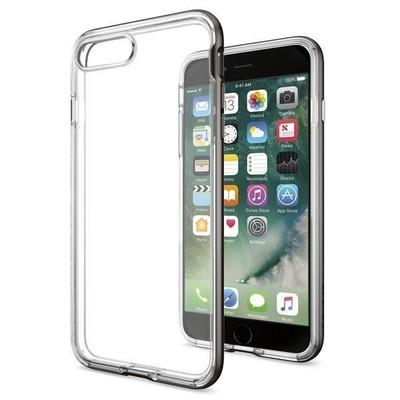 Spigen iPhone 7 Plus Kılıf Neo Hybrid Crystal - Gunmetal