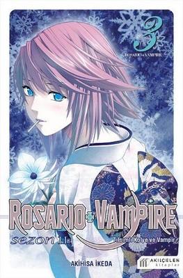 Rosario+Vampire Tılsımlı Kolye ve Vampir-Sezon 2 Cilt 3