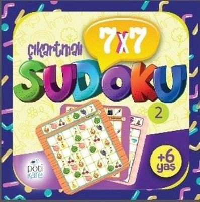 7x7 Çıkartmalı Sudoku 2