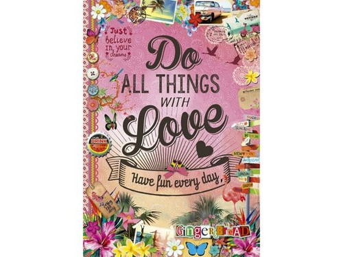 Educa Puzzle Do All Thing With Love 500 Parça 17086