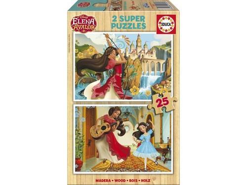 Educa Puzzle Elena Of Avalor 2X25 Parça 17235