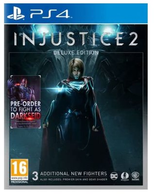 Injustice 2 - Deluxe (PS4)