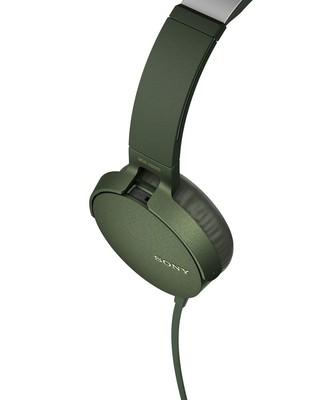 Sony Kafaüstü Kulaklık Yeşil MDRXB550APG