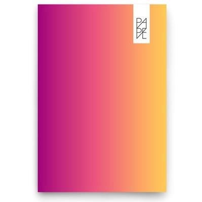Pape Gökkuşağı 15x21cm Pembe/Sarı