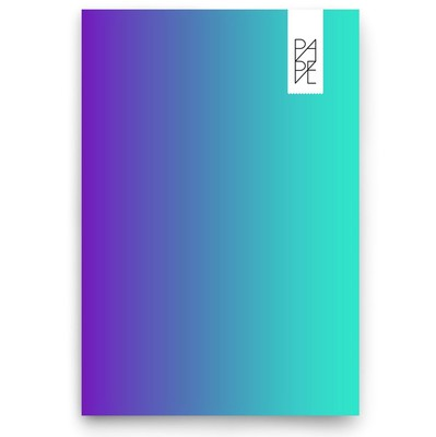 Pape Gökkuşağı 15x21cm Mavi