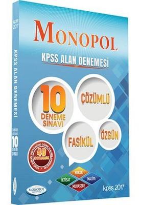 2017 Monopol KPSS Alan Denemesi