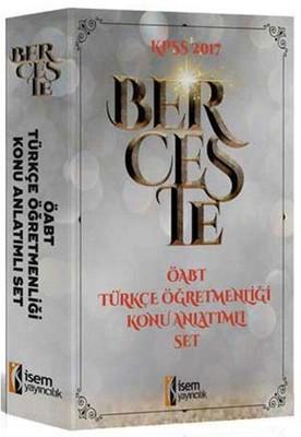 KPSS 2017 ÖABT Berceste Türk Öğretmenliği Konu Anlatımlı Set