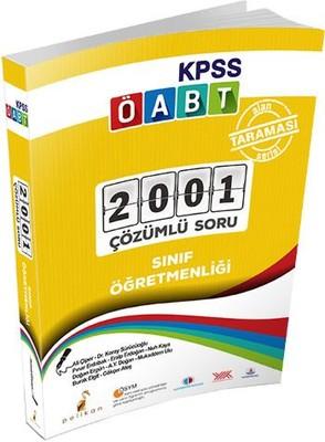 KPSS ÖABT Sınıf Öğretmenliği Alan Taraması 2001 Çözümlü Soru