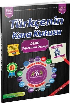 Türkçe'nin Kara Kutusu Demo Öğretmen Örneği