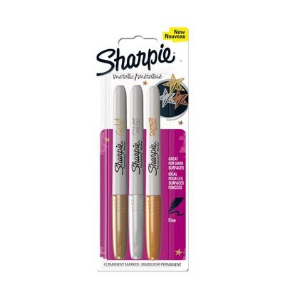 Sharpie Metalik Markör Karışık 3lü