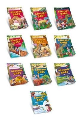 Dinozor Çağı Seti-10 Kitap Takım