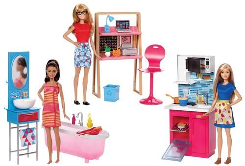 Barbie Oda Setleri Serisi DVX51