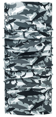 Buff Shark Camo Grey Uv Filtreli