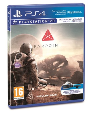 Sony Farpoint VR PS4 Oyun