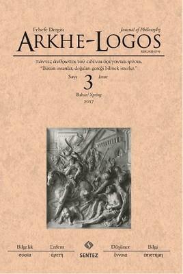 Arkhe-Logos Felsefe Dergisi Sayı 3