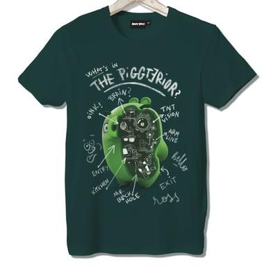 T-shirt Frocx Angry Birds Piggterior Erkek - L