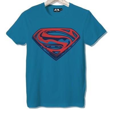 T-shirt Frocx Superman Logo Erkek - L