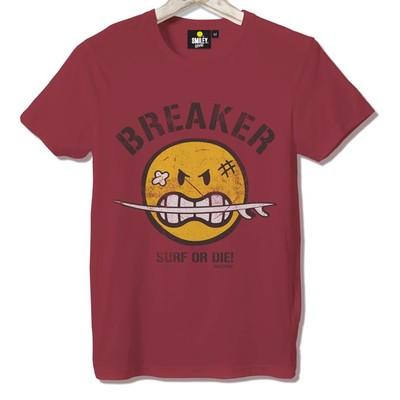 T-shirt Frocx Smiley Breaker Erkek - M