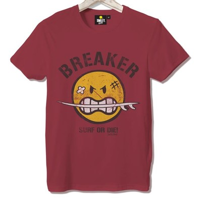 T-shirt Frocx Smiley Breaker Erkek - L