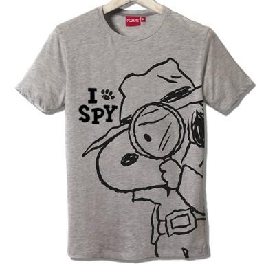 T-shirt Frocx Snoopy I Spy Erkek - L