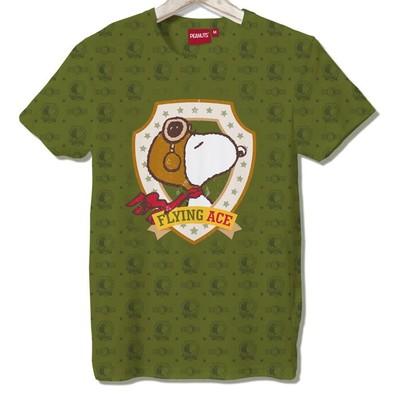 T-shirt Frocx Snoopy Flyıng Ace Erkek - Xl