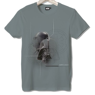 T-shirt Frocx Star Wars Used Aır Exhaust Erkek - S