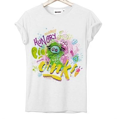 T-shirt Frocx Angry Birds Hungry Kadın - Xs