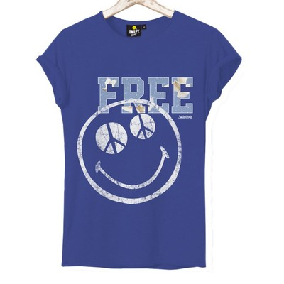 T-shirt Frocx Smiley Free Kadın - Xs