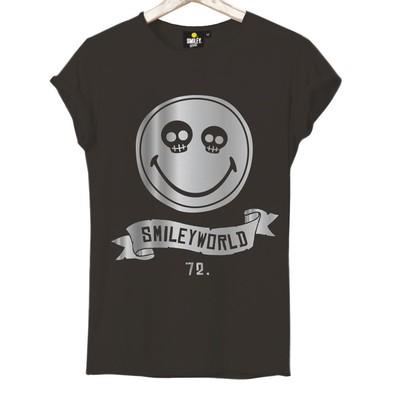 T-shirt Frocx Smiley World Kadın - Xs