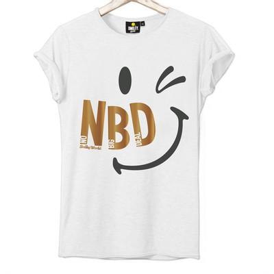 T-shirt Frocx Smiley Nbd Kadın - L