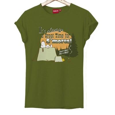 T-shirt Frocx Snoopy Smores Kadın - M