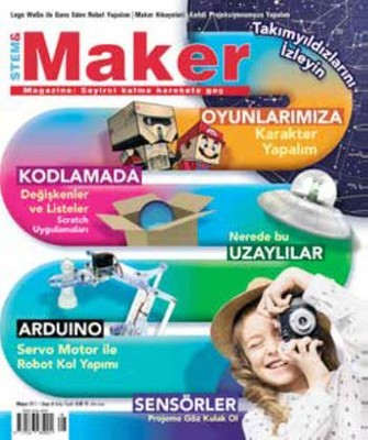Stem-Maker Magazine Sayı 8
