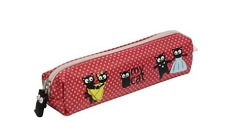 CAT Küçük Kalemlik - Kırmızı